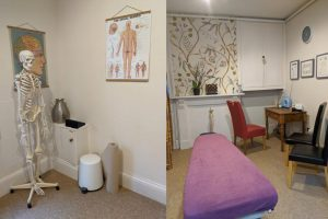 setting up wellcome back chiropractic clinic chiropractor stroud